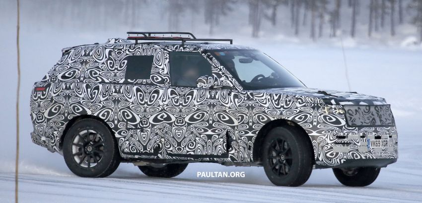 SPIED: 2021 Range Rover Sport cold-weather testing Image #1083499