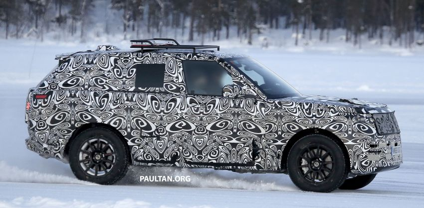 SPIED: 2021 Range Rover Sport cold-weather testing Image #1083501