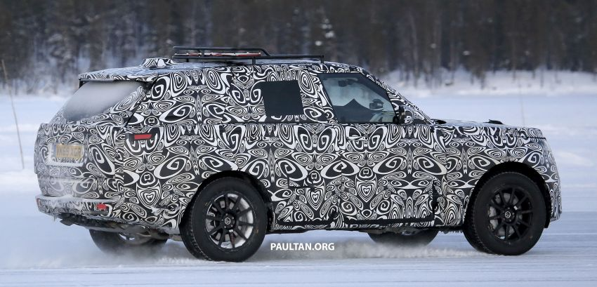 SPIED: 2021 Range Rover Sport cold-weather testing Image #1083504