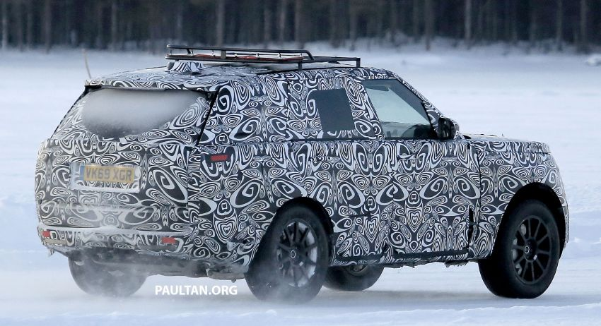 SPIED: 2021 Range Rover Sport cold-weather testing Image #1083505
