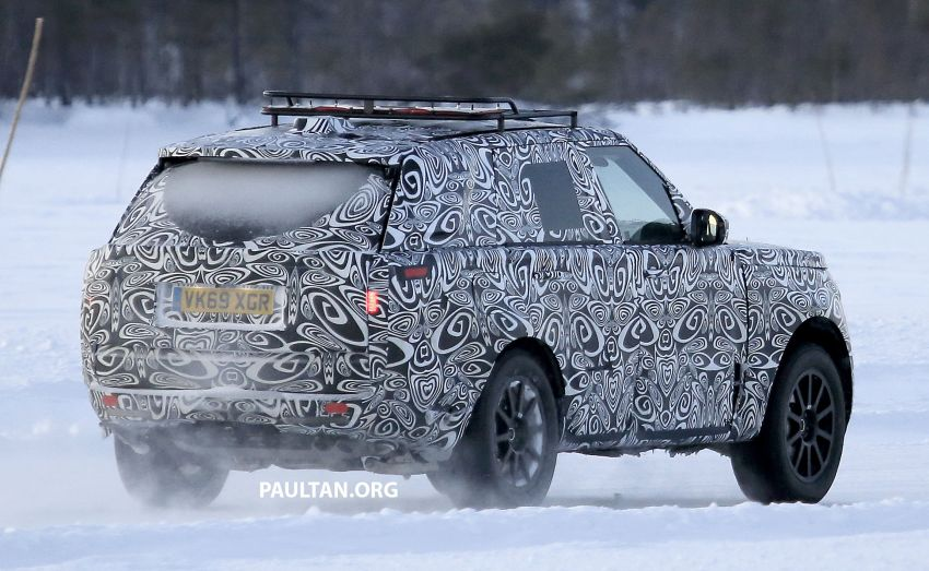 SPIED: 2021 Range Rover Sport cold-weather testing Image #1083507