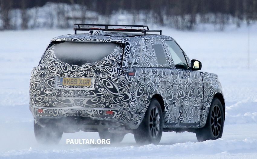 SPIED: 2021 Range Rover Sport cold-weather testing Image #1083509