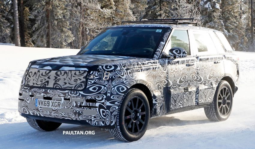 SPIED: 2021 Range Rover Sport cold-weather testing Image #1083448