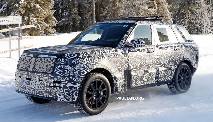 SPIED: 2021 Range Rover Sport cold-weather testing Image #1083459