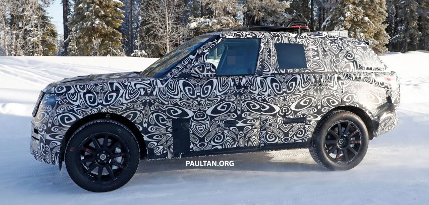 SPIED: 2021 Range Rover Sport cold-weather testing Image #1083461