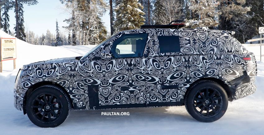SPIED: 2021 Range Rover Sport cold-weather testing Image #1083462