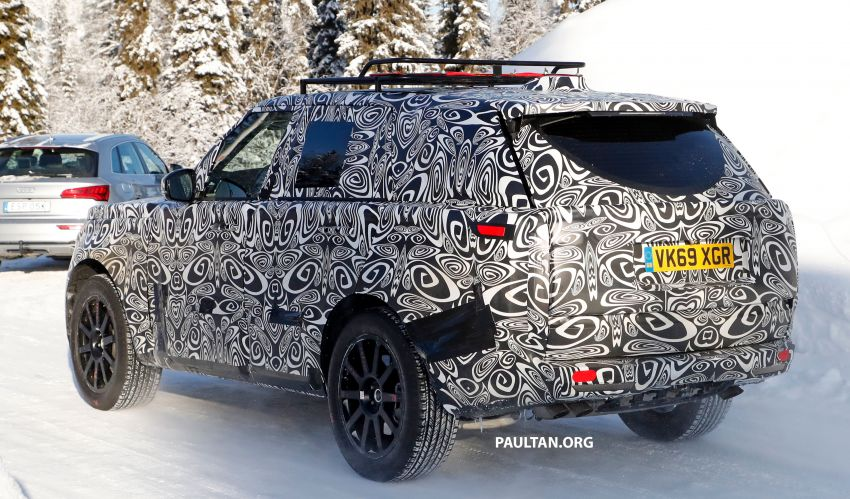SPIED: 2021 Range Rover Sport cold-weather testing Image #1083464