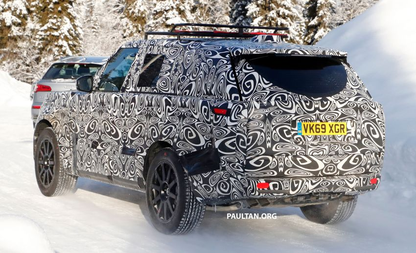 SPIED: 2021 Range Rover Sport cold-weather testing Image #1083465