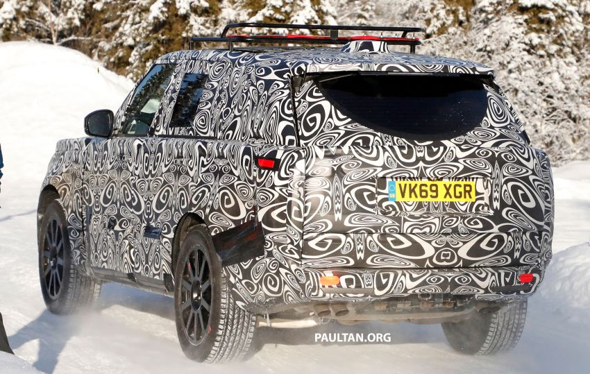 SPIED: 2021 Range Rover Sport cold-weather testing Image #1083466