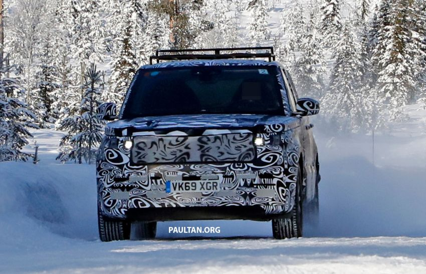 SPIED: 2021 Range Rover Sport cold-weather testing Image #1083467