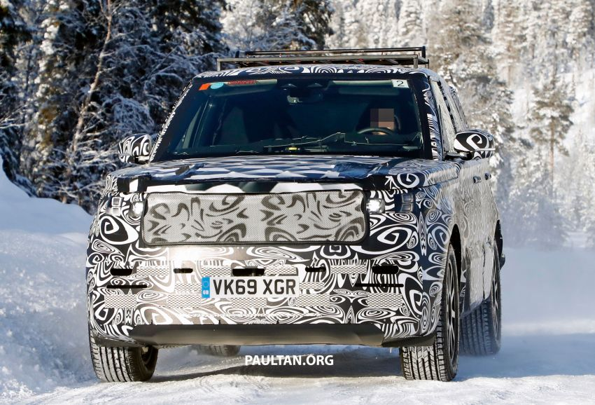 SPIED: 2021 Range Rover Sport cold-weather testing Image #1083469