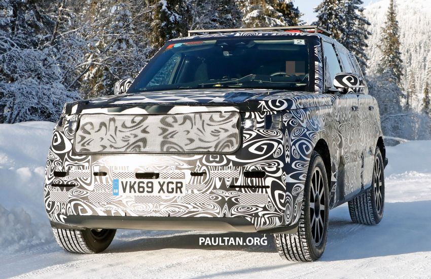 SPIED: 2021 Range Rover Sport cold-weather testing Image #1083470