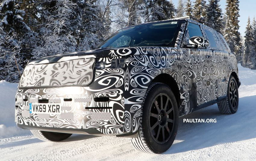 SPIED: 2021 Range Rover Sport cold-weather testing Image #1083472