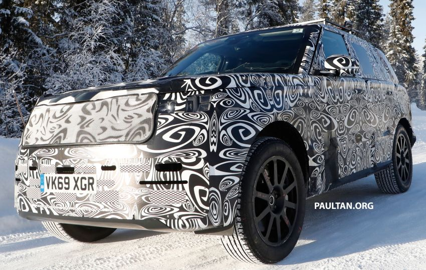 SPIED: 2021 Range Rover Sport cold-weather testing Image #1083474