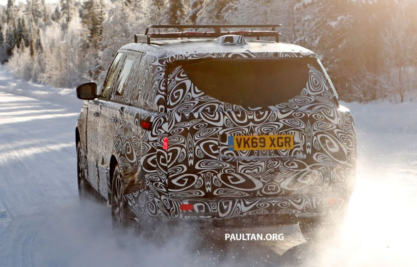 SPIED: 2021 Range Rover Sport cold-weather testing Image #1083476