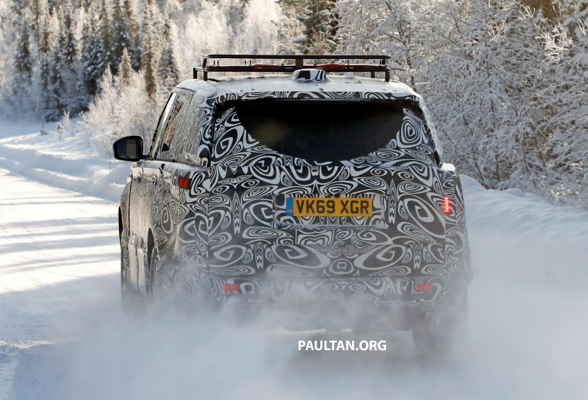 SPIED: 2021 Range Rover Sport cold-weather testing Image #1083478