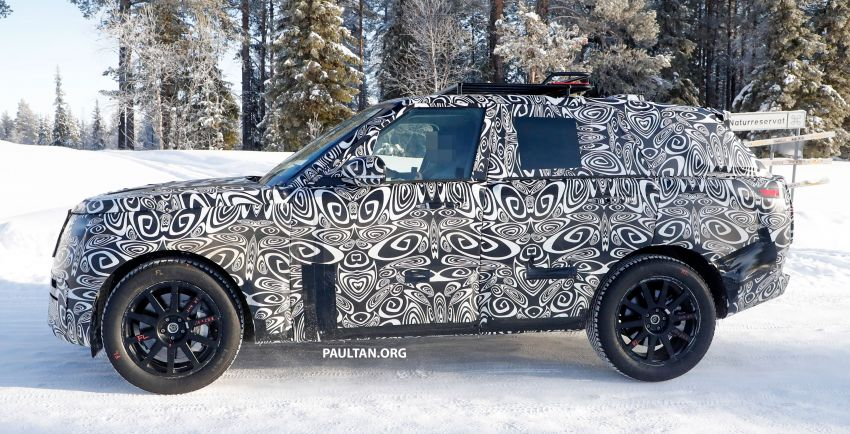 SPIED: 2021 Range Rover Sport cold-weather testing Image #1083451