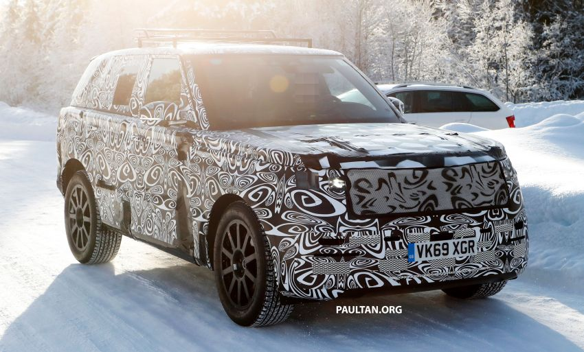SPIED: 2021 Range Rover Sport cold-weather testing Image #1083452