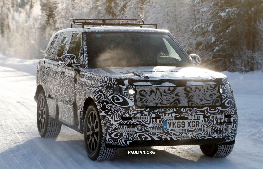SPIED: 2021 Range Rover Sport cold-weather testing Image #1083453
