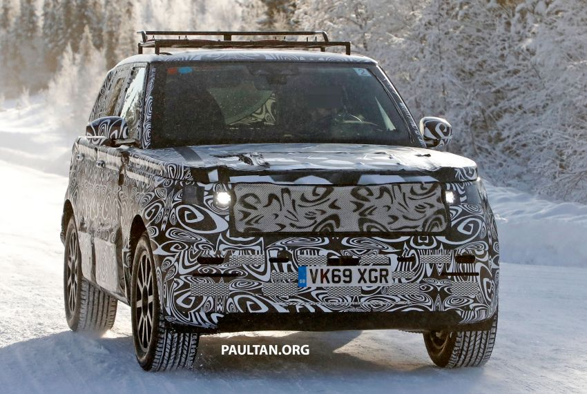 SPIED: 2021 Range Rover Sport cold-weather testing Image #1083454
