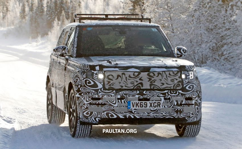 SPIED: 2021 Range Rover Sport cold-weather testing Image #1083456