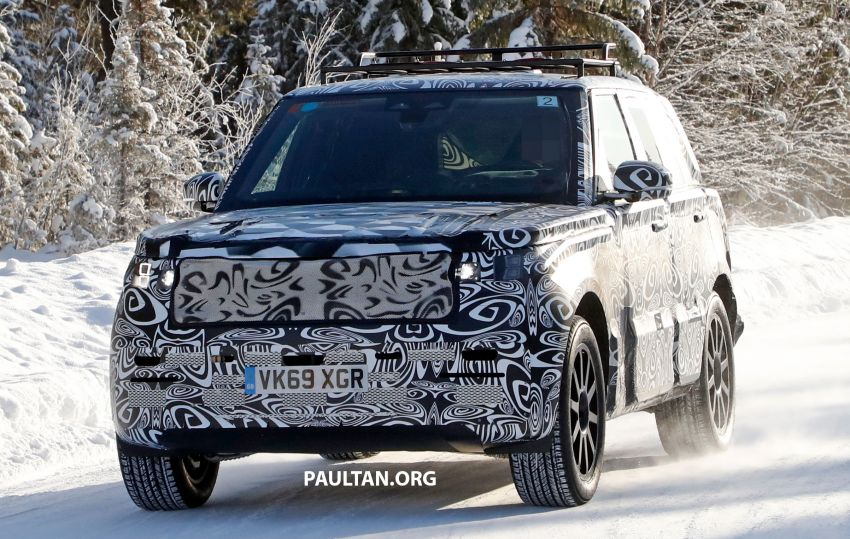 SPIED: 2021 Range Rover Sport cold-weather testing Image #1083457