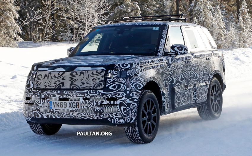 SPIED: 2021 Range Rover Sport cold-weather testing Image #1083458