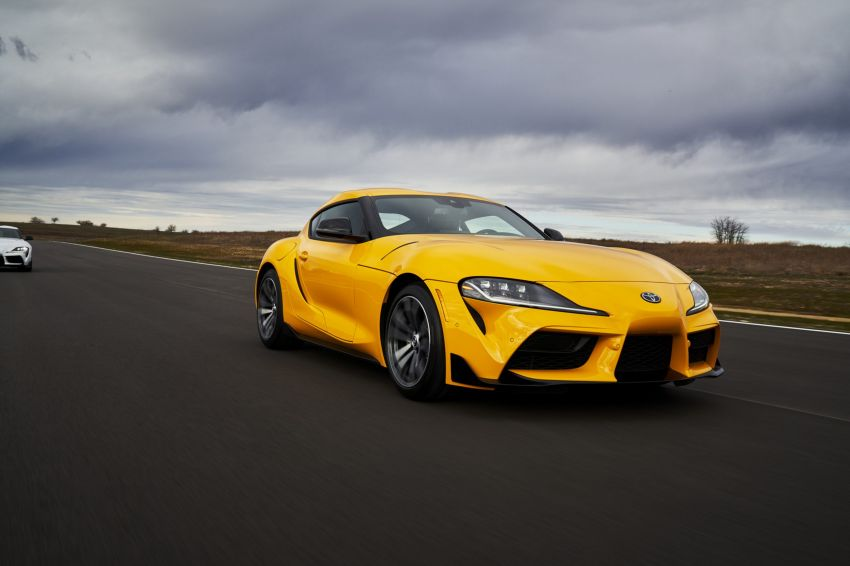 2021 Toyota GR Supra in US – 47 hp more, 2.0L option Image #1081878
