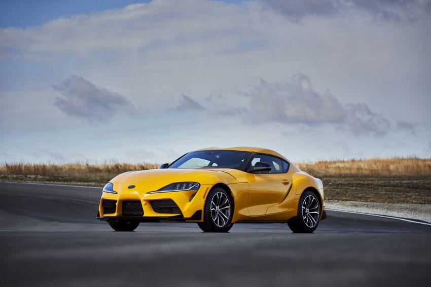 2021 Toyota GR Supra in US – 47 hp more, 2.0L option Image #1081888