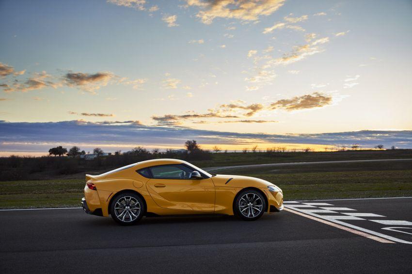 2021 Toyota GR Supra in US – 47 hp more, 2.0L option Image #1081892
