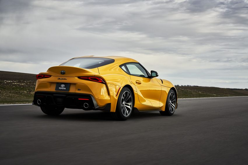 2021 Toyota GR Supra in US – 47 hp more, 2.0L option Image #1081881