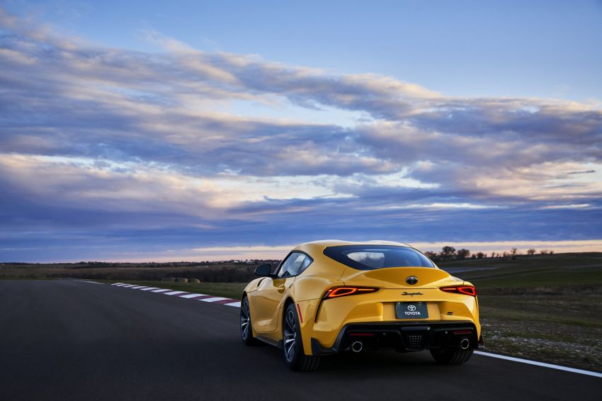 2021 Toyota GR Supra in US – 47 hp more, 2.0L option Image #1081883
