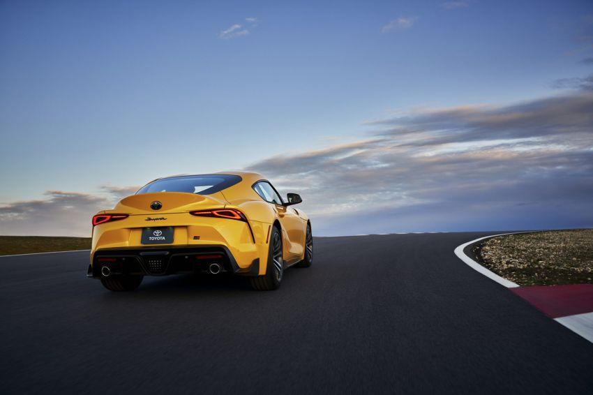 2021 Toyota GR Supra in US – 47 hp more, 2.0L option Image #1081884