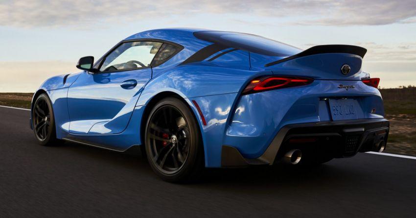 2021 Toyota GR Supra in US – 47 hp more, 2.0L option Image #1081902