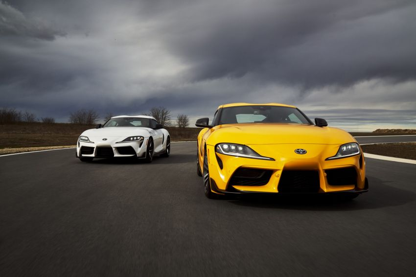 2021 Toyota GR Supra in US – 47 hp more, 2.0L option Image #1081922