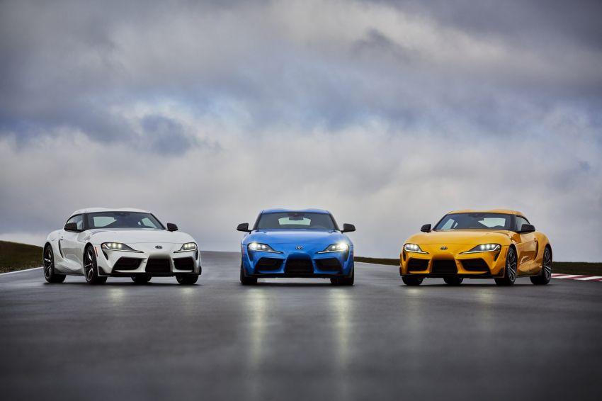 2021 Toyota GR Supra in US – 47 hp more, 2.0L option Image #1081933