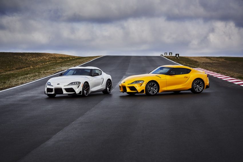 2021 Toyota GR Supra in US – 47 hp more, 2.0L option Image #1081935