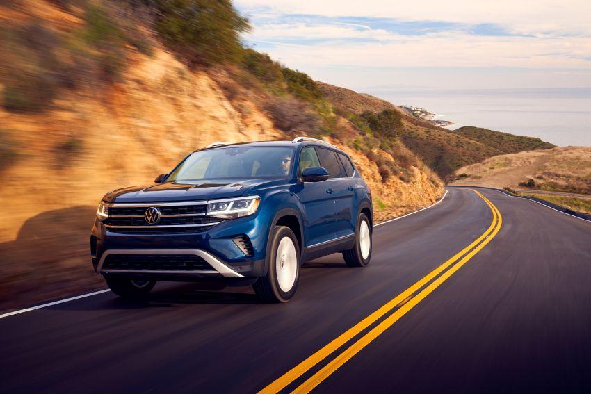 2021 Volkswagen Atlas debuts – 7-seat SUV refreshed Image #1078242