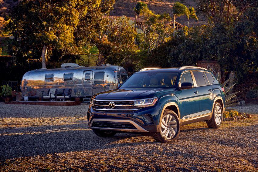 2021 Volkswagen Atlas debuts – 7-seat SUV refreshed Image #1078252