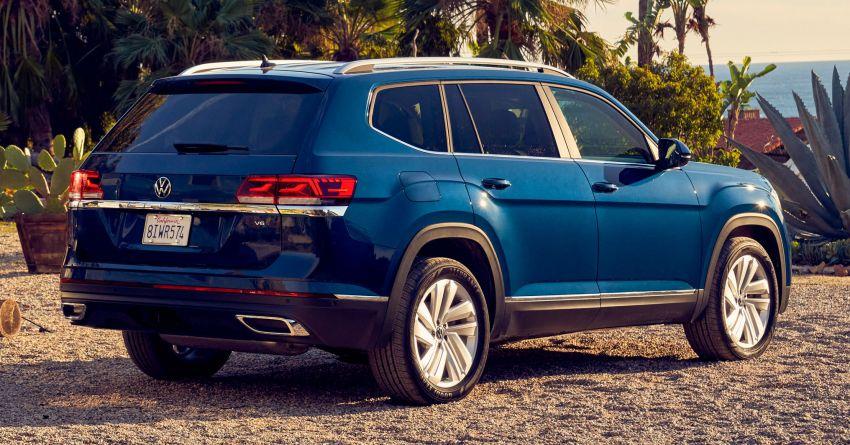 2021 Volkswagen Atlas debuts – 7-seat SUV refreshed Image #1078255