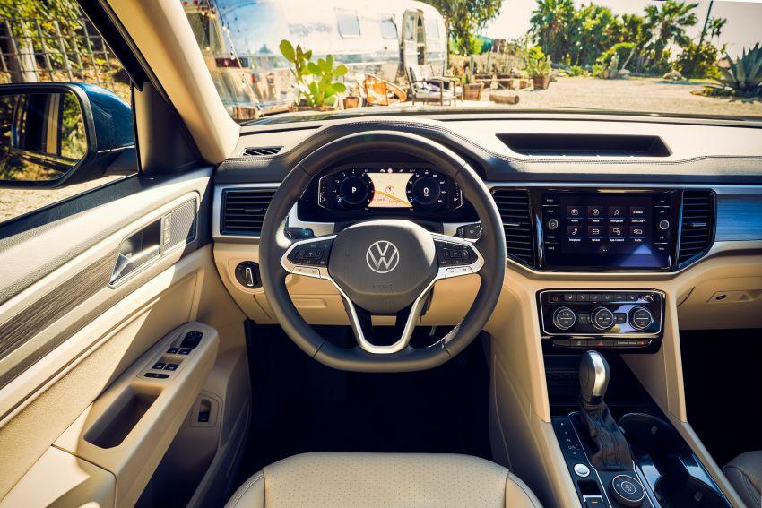 2021 Volkswagen Atlas debuts – 7-seat SUV refreshed Image #1078262