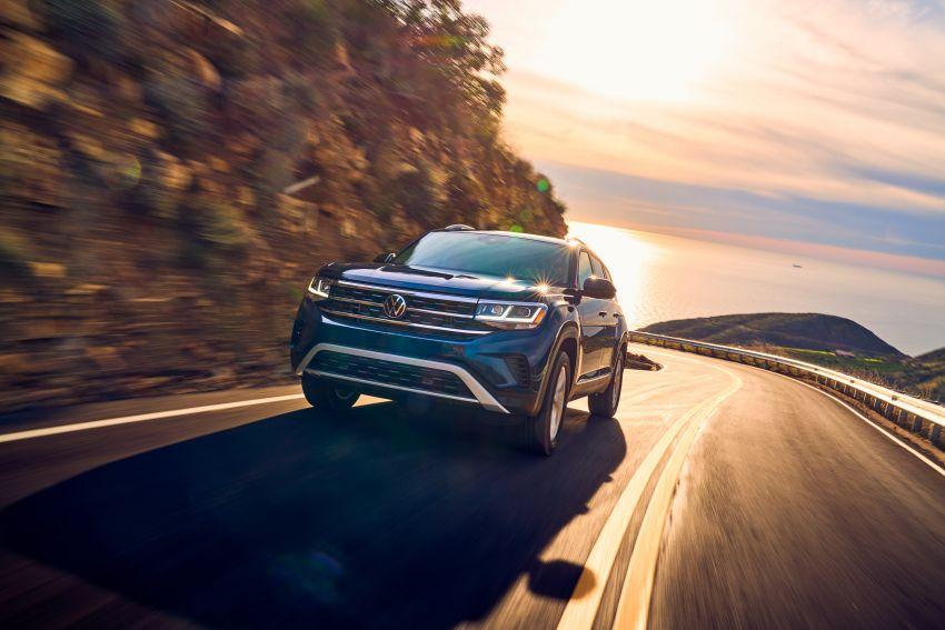 2021 Volkswagen Atlas debuts – 7-seat SUV refreshed Image #1078246