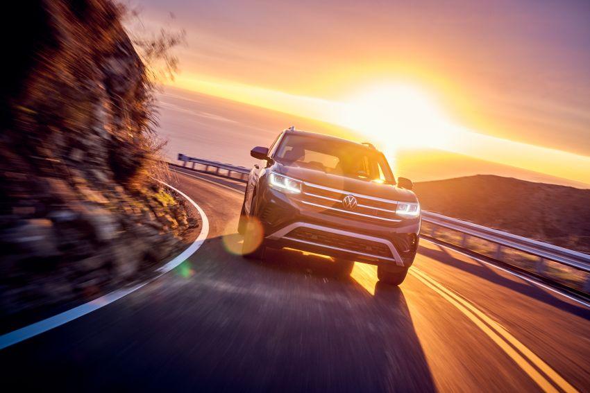 2021 Volkswagen Atlas debuts – 7-seat SUV refreshed Image #1078250