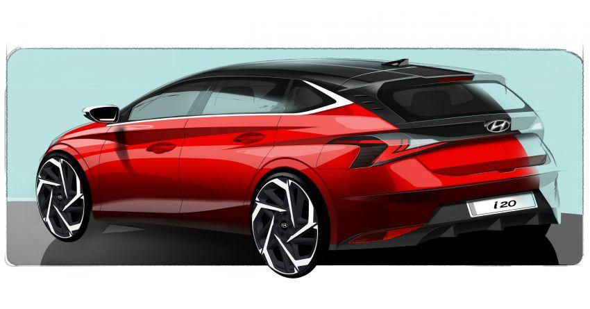 New Hyundai i20 shown in sketches – Geneva debut Image #1077552