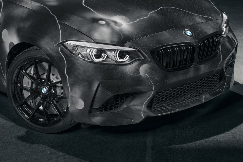 BMW M2 Competition turned into art by Futura 2000 Image #1082092
