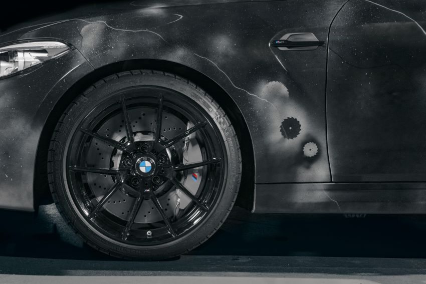 BMW M2 Competition turned into art by Futura 2000 Image #1082097