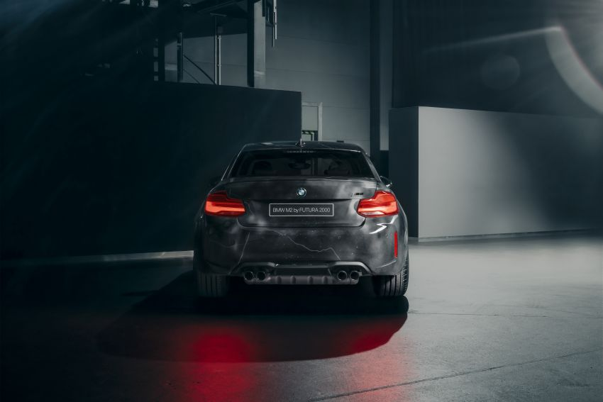 BMW M2 Competition turned into art by Futura 2000 Image #1082103