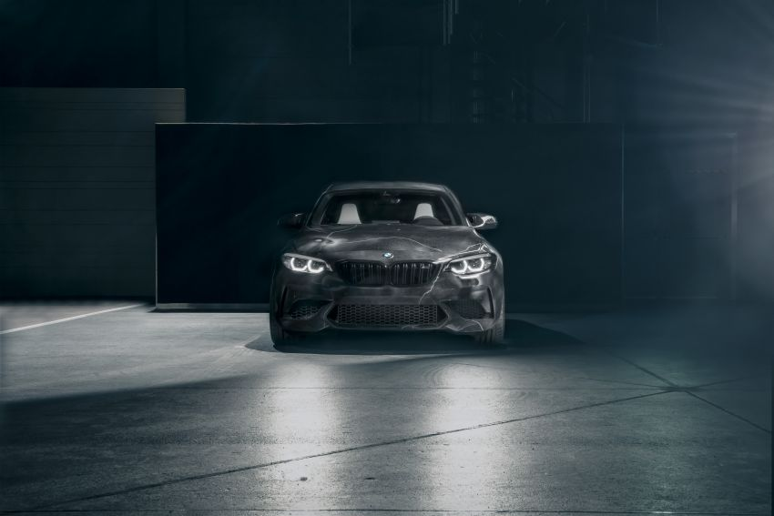 BMW M2 Competition turned into art by Futura 2000 Image #1082111