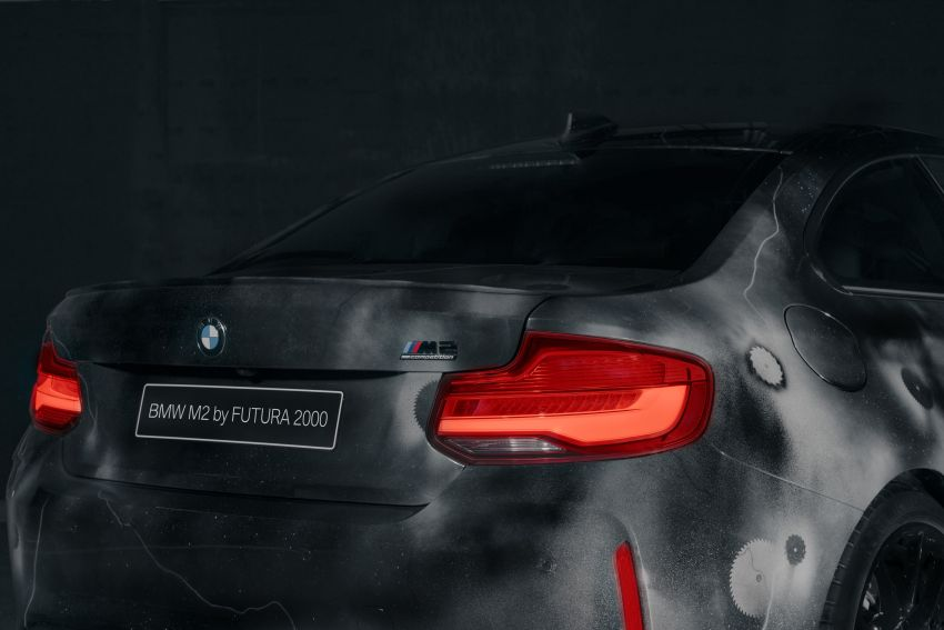 BMW M2 Competition turned into art by Futura 2000 Image #1082128