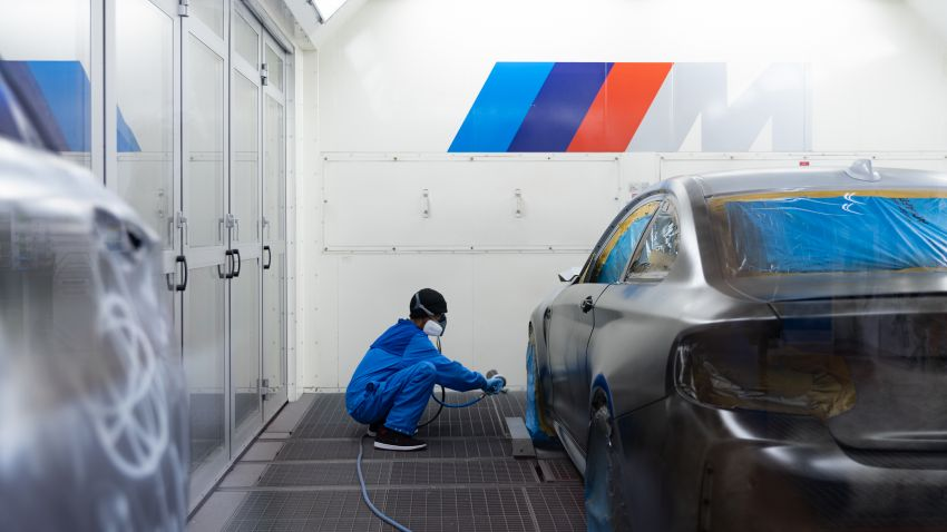 BMW M2 Competition turned into art by Futura 2000 Image #1082142